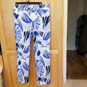 Gretchen Scott Jeans Frond Frenz XL NWT